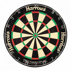 harrows pro match dartboard